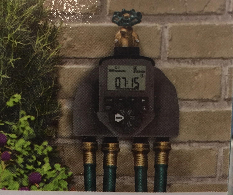 Amazon.com: Orbit 1 Dial 4 Outlet Hose Faucet Timer: Industrial ...