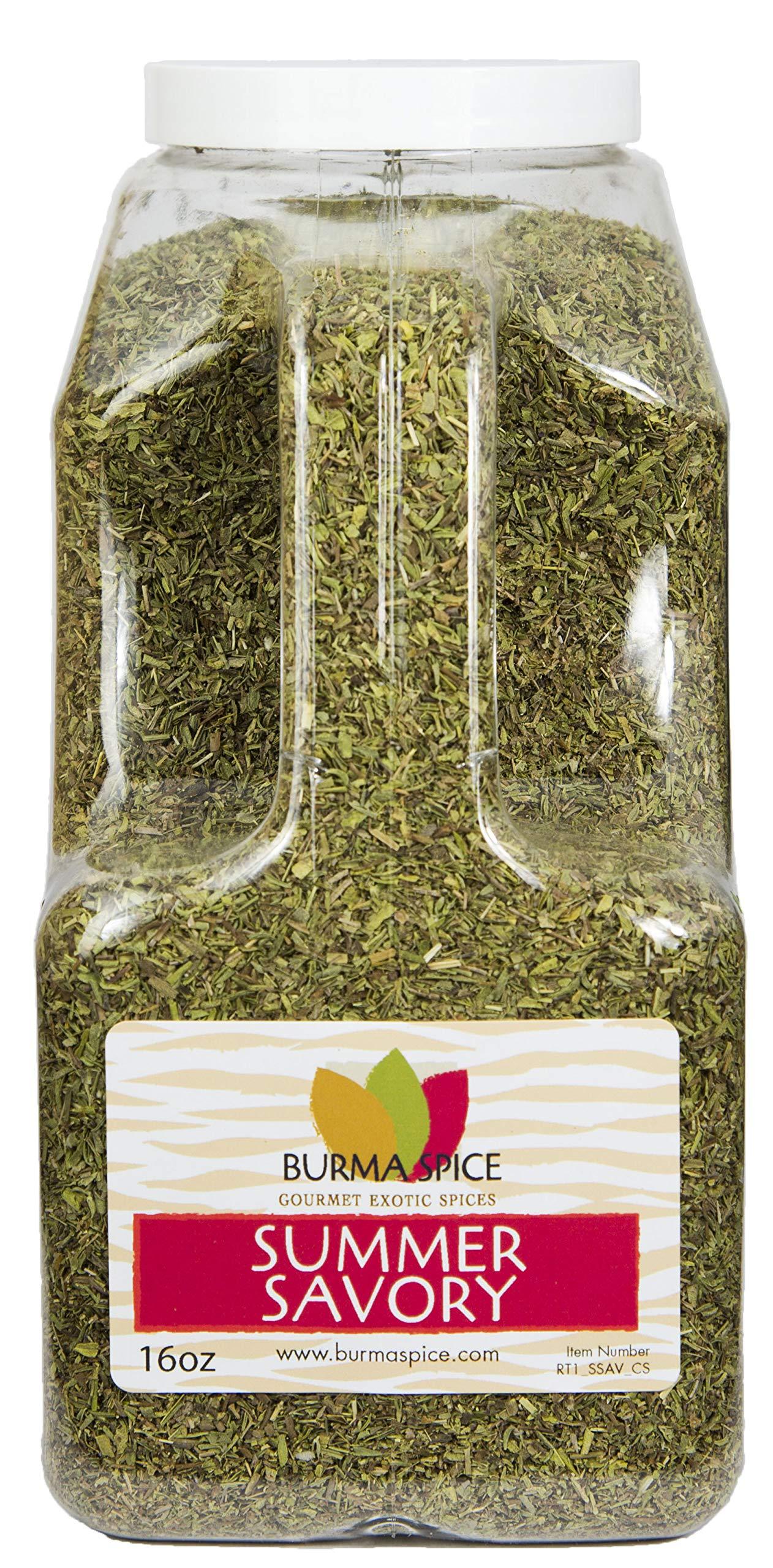 Summer Savory : Dried Herb : All Natural : No additives, Seasoning Spice : Kosher (16oz.)