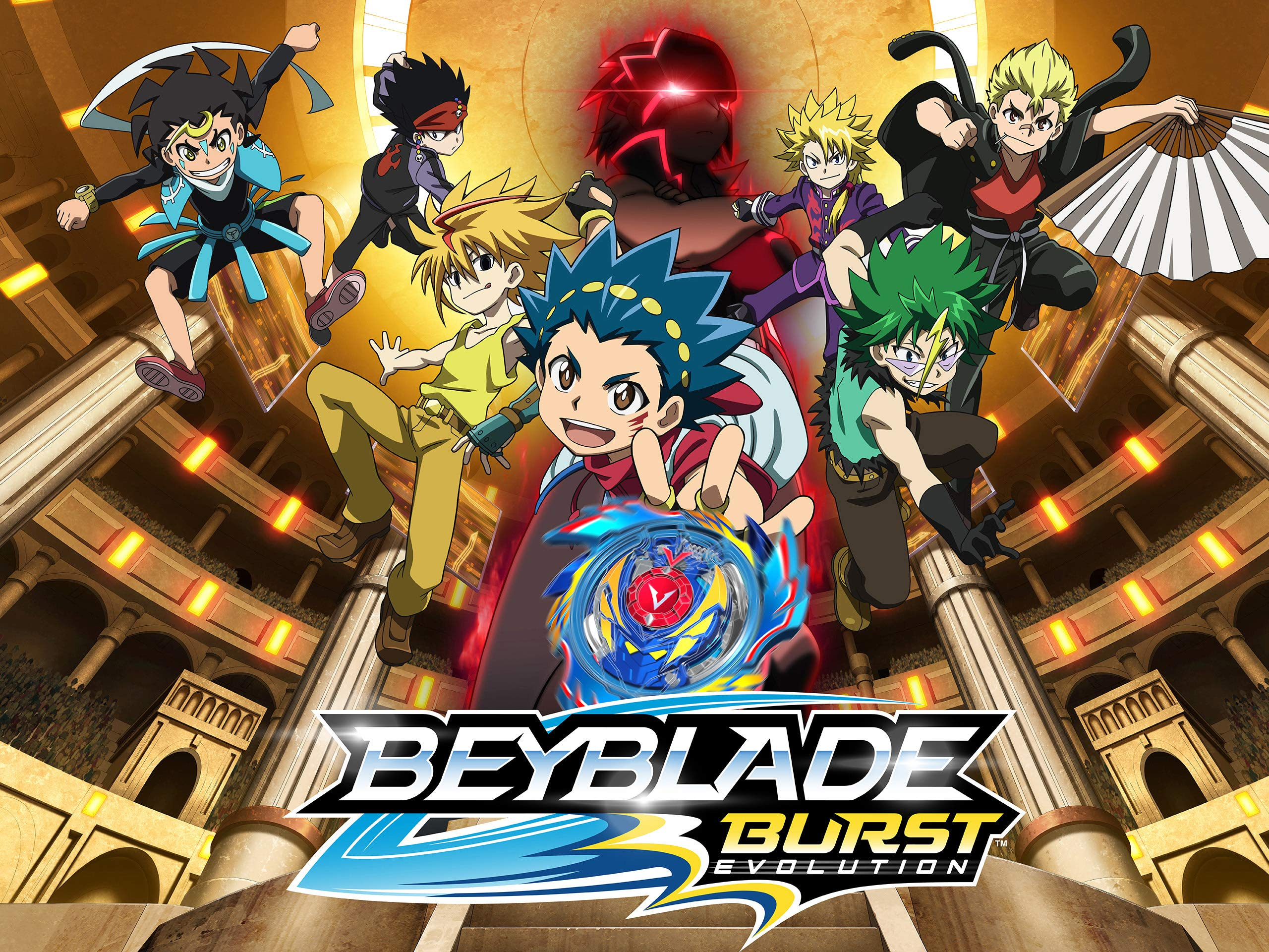 Amazon.com: Beyblade Burst - Season 1: Adrian Petriw, Matt ...