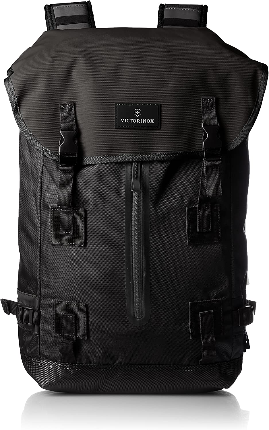 Victorinox Altmont 3.0 Flapover Drawstring Laptop Backpack, Black, 18.8-inch