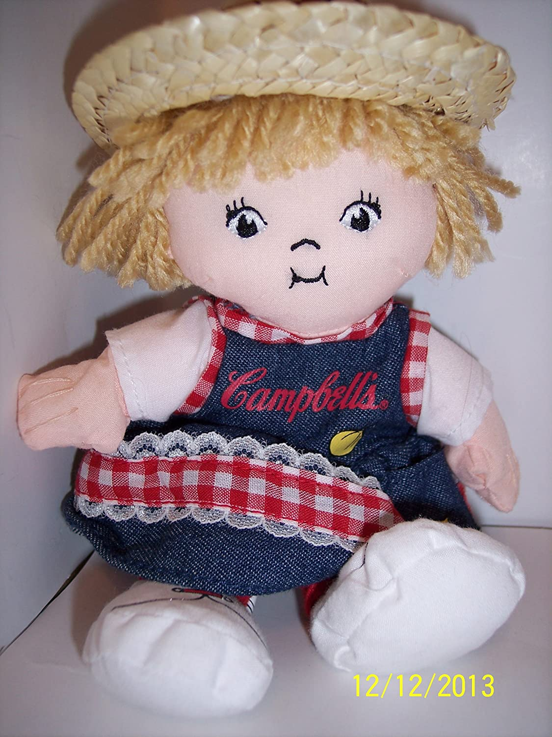 2000 CAMPBELL SOUP KIDS 7\' PLUSH DOLL CAMPBELLS SOUP