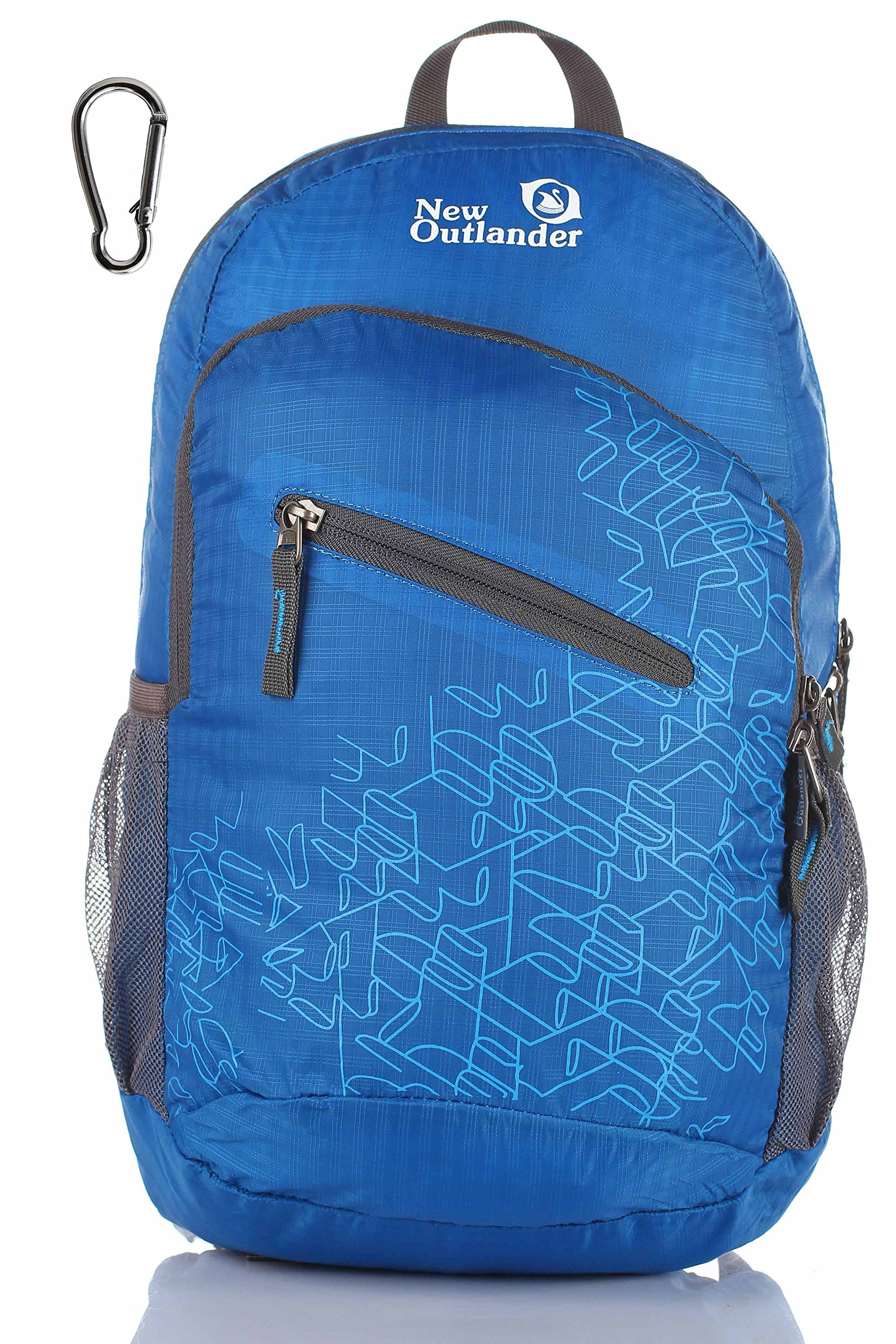 Outlander Packable Handy Lightweight Travel Hiking Backpack Daypack-Dark Blue by Outlander