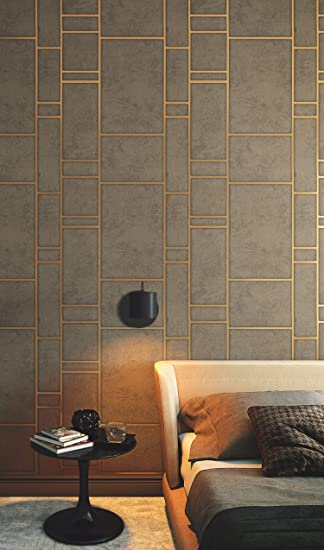 Tapete Gold Braun Linien Metallic Grafisch Industrial Vliestapete Wohnzimmer Schlafzimmer Premium Qualitat Made In Germany 10 05 X 0 53m Neu 31749 Amazon De Baumarkt