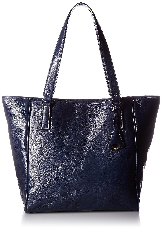 アニアリ トートバッグ Antique Leather Shoulder 01-02017 B01E52NV40 ダークブルー
