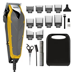 Wahl Clipper Fade Cut Haircutting Kit 79445 Trimming and Personal Grooming Kit with Adjustable Fade Level for Blending and Fade Cuts