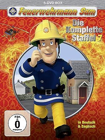 Feuerwehrmann Sam Die Komplette Staffel 7 5 Dvds Amazonde