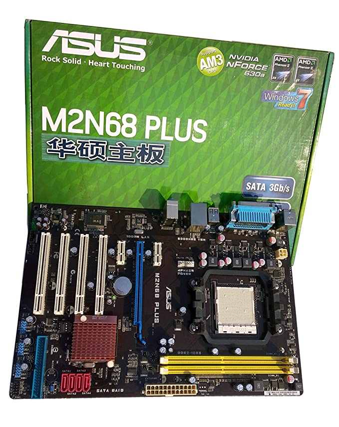 Asus M2N68 PLUS NVIDIA SATA RAID Drivers for Windows 10