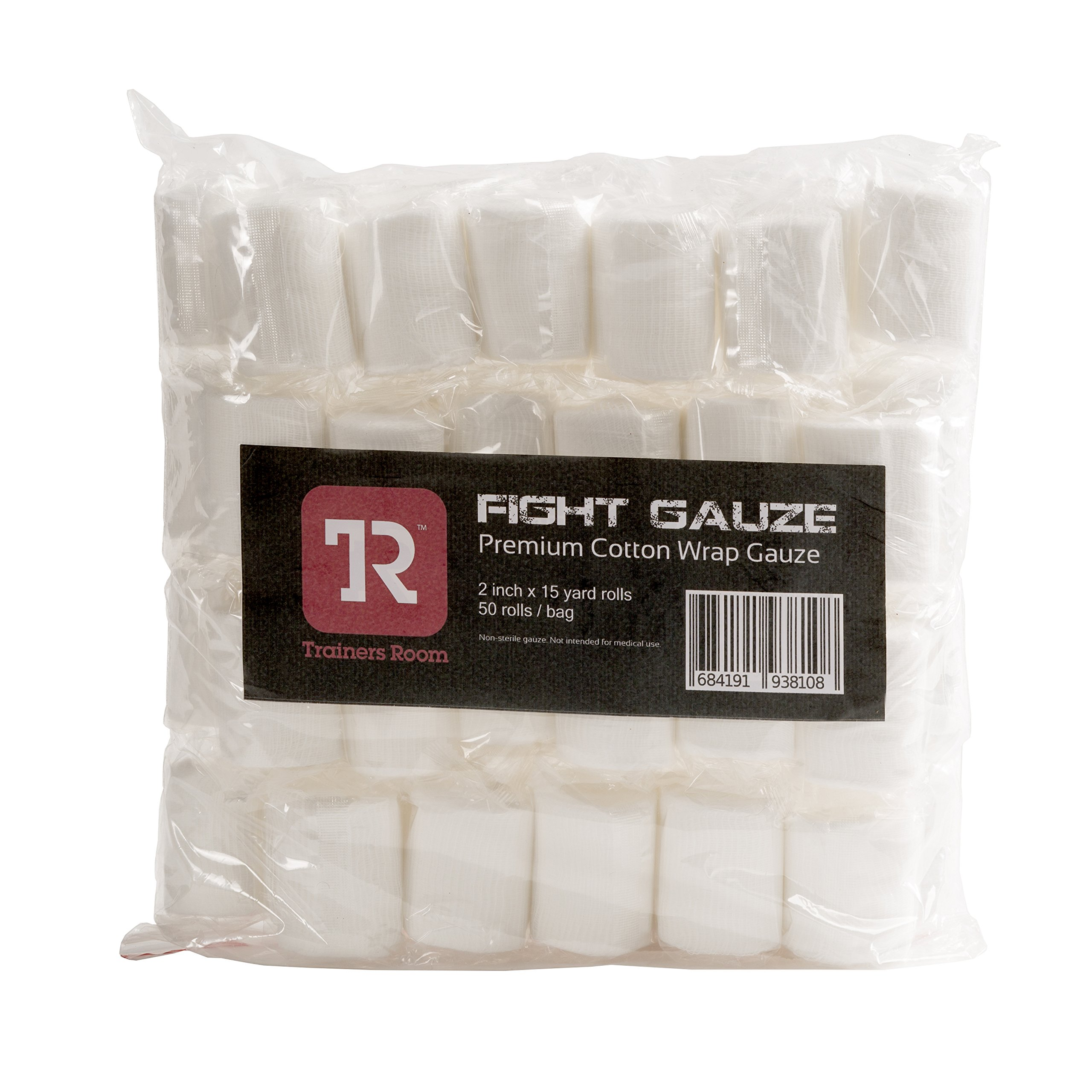 TR Fight Gauze 2 inch 50 Roll/bag
