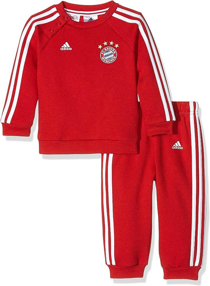 adidas Bayern de Munich 3S Bbyjogg Conjunto de Equipación, niño ...