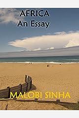 Africa - An Essay Kindle Edition