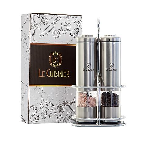 Amazon.com: Le Cuisinier Classic molinillo de sal y pimienta ...