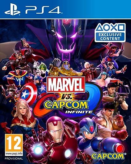 7cdce8c9ac1 Marvel Vs Capcom Infinite (PS4)  Amazon.co.uk  PC   Video Games