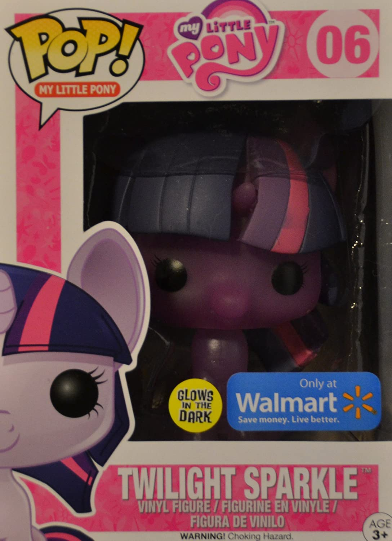 0709b9f3cc1 Funko Pop! My Little Pony set 02 04 06 ( Walmart Exclusive - Glow in the  dark! )