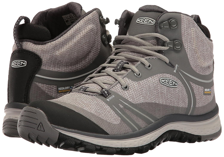 KEEN Women's Terradora Mid Waterproof Hiking Shoe B01H8GHYC0 10 B(M) US|Gargoyle/Magnet