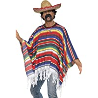 SMKMI Smiffys Déguisement Homme Mexicain, Western, Serious Fun, Taille Unique, 21860