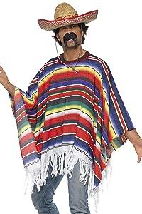 Smiffy's Smiffys-21860 Miffy Poncho, Multicolor, Tamaño único 21860