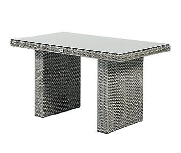 Gartenmöbel Gartentisch LoungetischFREDO Polyrattan (Beige)