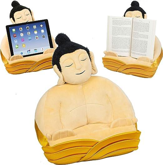Atril Buda, Soporte cojín de Lectura para Libros, Tablets, iPad y ...