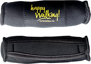 Walk at Home Active Fitness Happy Walking Hand Weights 2 LB Each Home Gym Workout Neoprene Dumbbell Weights