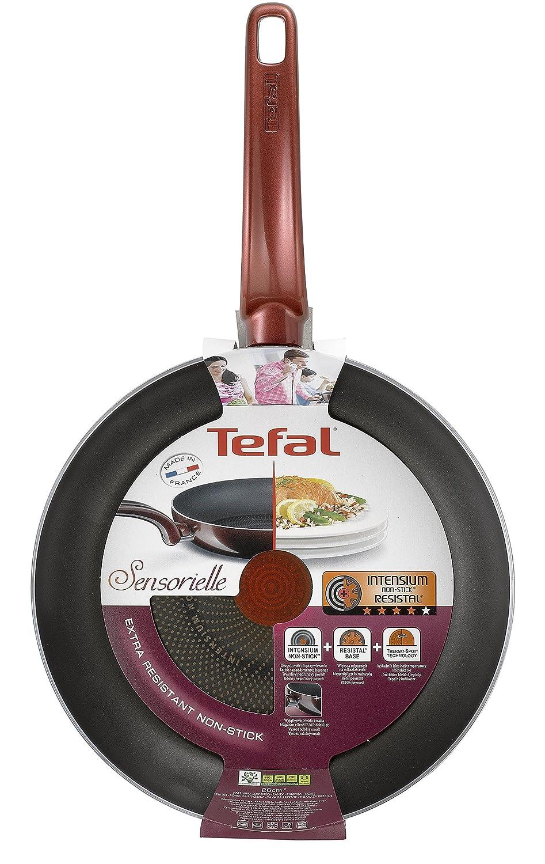 Tefal D23207 Sartén 30 cm Sensorielle, Aluminio, Dorado: Amazon.es: Hogar