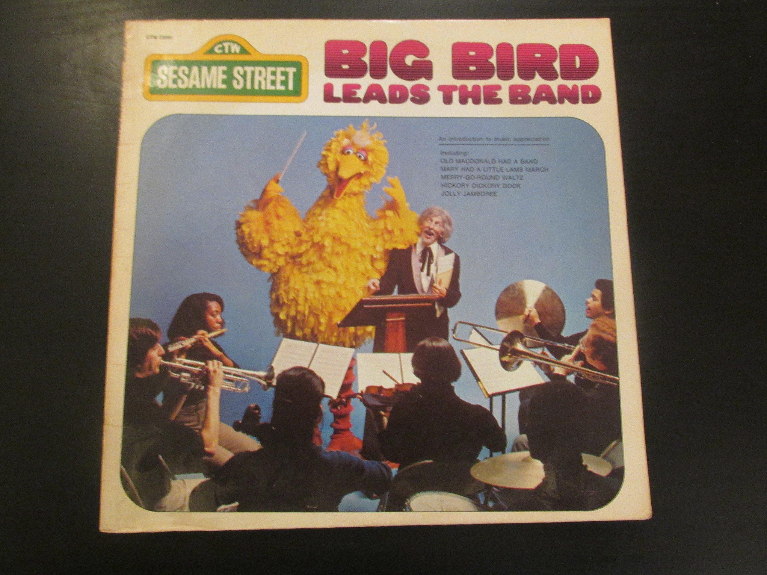 Big Bird Leads The Band