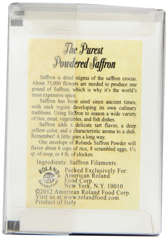 Roland Pure Saffron Powder, 50 Envelopes Net Wt. 1/220 Oz (0.13g) by Roland (Image #4)