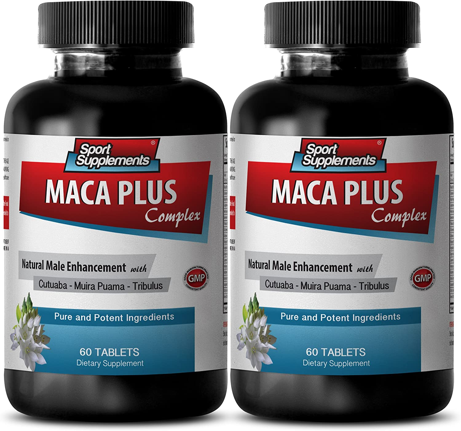 Catuaba and Muira puama - Maca Plus Complex - Promotes Healthy (2 Bottles - 120 Tablets): Health & Personal Care
