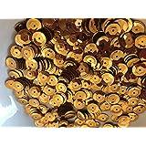 Sequins 8mm 800/Pkg Gold
