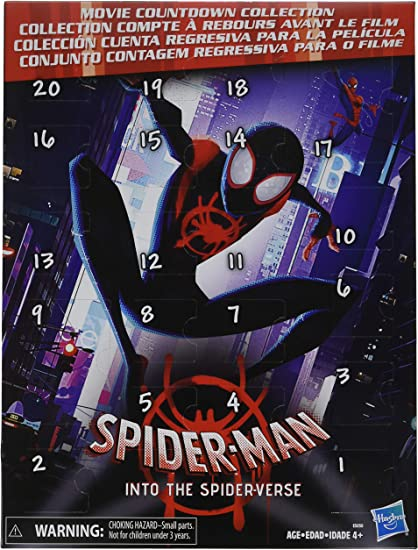 Spider-Man Into the Spider-Verse Movie Countdown Collection