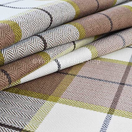 Yorkshire Fabric Shop Tartán escocés Plaid como patrón ...