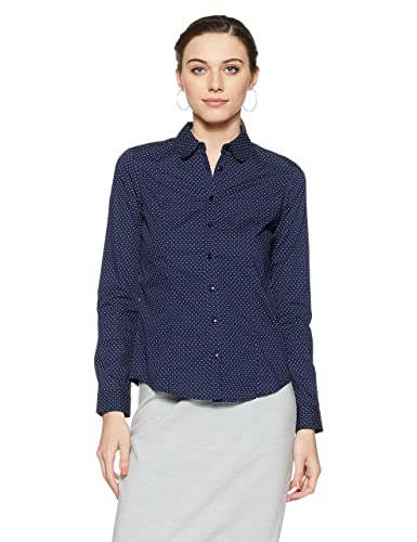 Van Heusen Women's Body Blouse Shirt Shirts at amazon