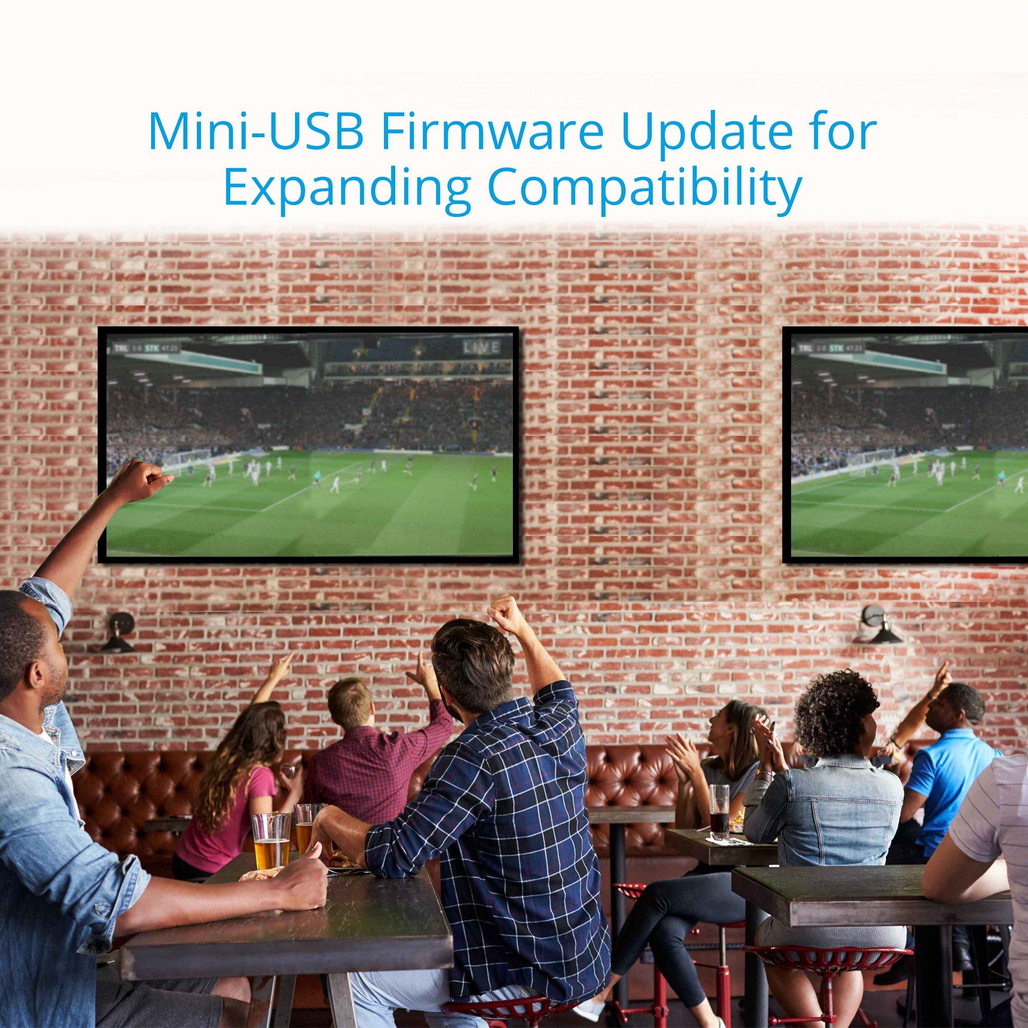 gofanco Prophecy Intelligent 4K 60Hz HDR 1x2 HDMI 2 0 Splitter – YUV 4:4:4,  3D, HDMI 2 0a, HDCP 2 2, EDID, 18Gbps, Auto Scaling, Low Heat,