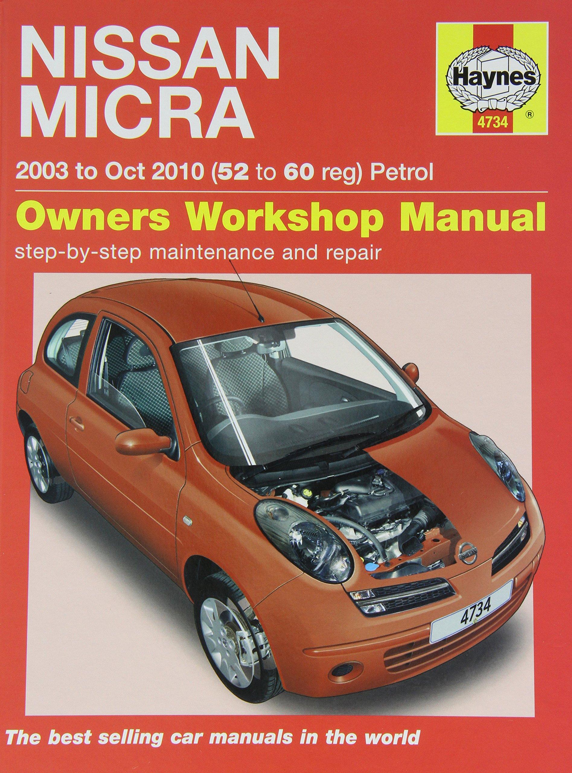 Haynes 4734 Service and Repair Workshop Manual: Amazon.co.uk:  0638876410045: Books