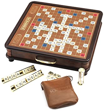Unbekannt Scrabble Luxus Edition: Amazon.de: Spielzeug