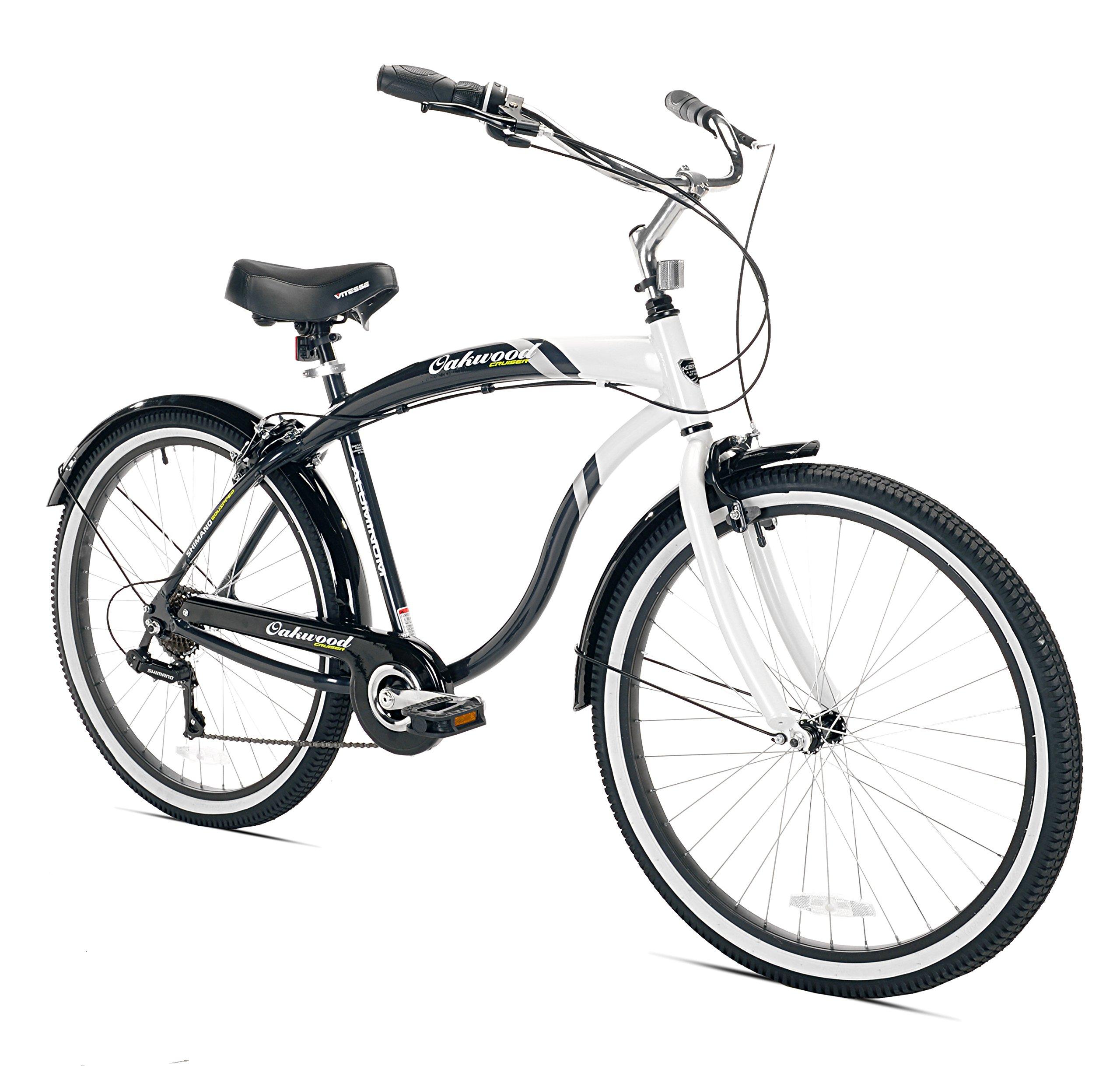 Kent Oakwood Men's Cruiser Bike, 26-Inch