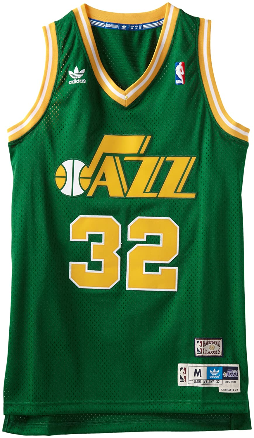 ... Amazon.com NBA Utah Jazz Green Swingman Jersey Karl Malone 32 99e7470c2