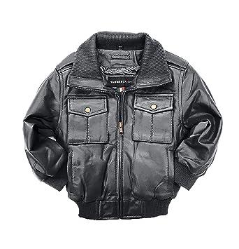 4c62ca0dc Amazon.com  Tanners Avenue Childrens Black Genuine Lambskin Leather ...