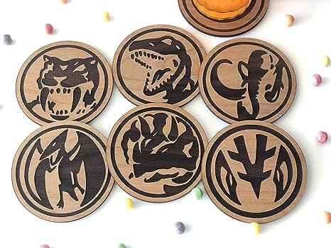 Amazon com   Mighty Morphin Power Ranger Power Coins