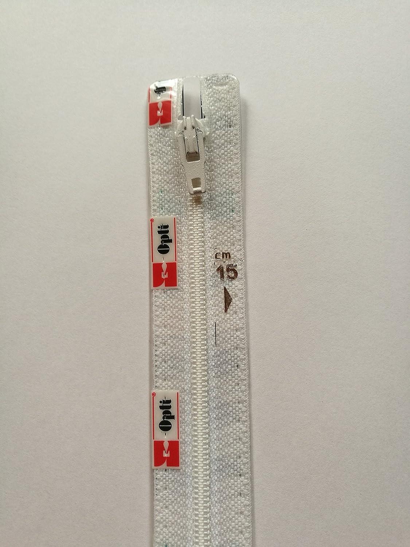 nicht teilbar OPTI Marken-Reißverschluss 4801 beige Kunststoff