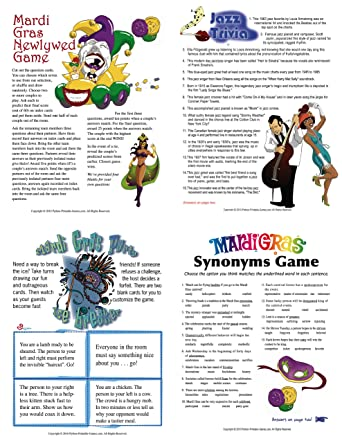 graphic regarding Mardi Gras Trivia Quiz Printable identified as : Printable Mardi Gras Game titles Pack [Obtain]: Application