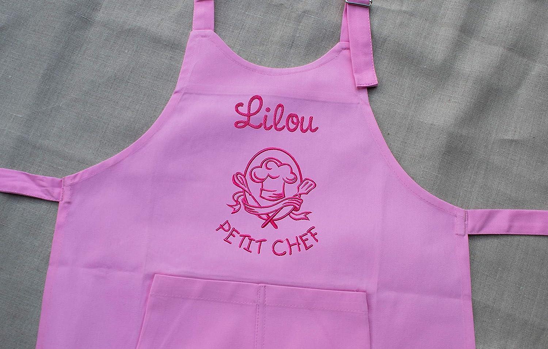 Tablier enfant personnalisé Petit Chef, tablier enfant, tablier cuisine, cadeau personnalisé, cadeau personnalisable
