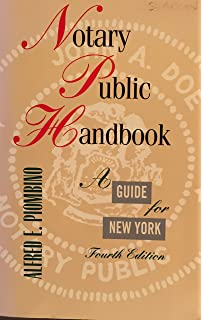 Amazon notary public handbook a guide for new york 4th ed notary public handbook a guide for new york law fandeluxe Gallery