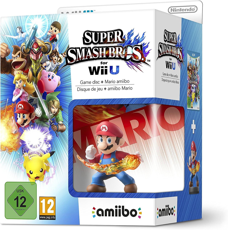 Wii U: Super Smash Bros + Amiibo Mario [Bundle] [Importación Italiana]: Amazon.es: Videojuegos