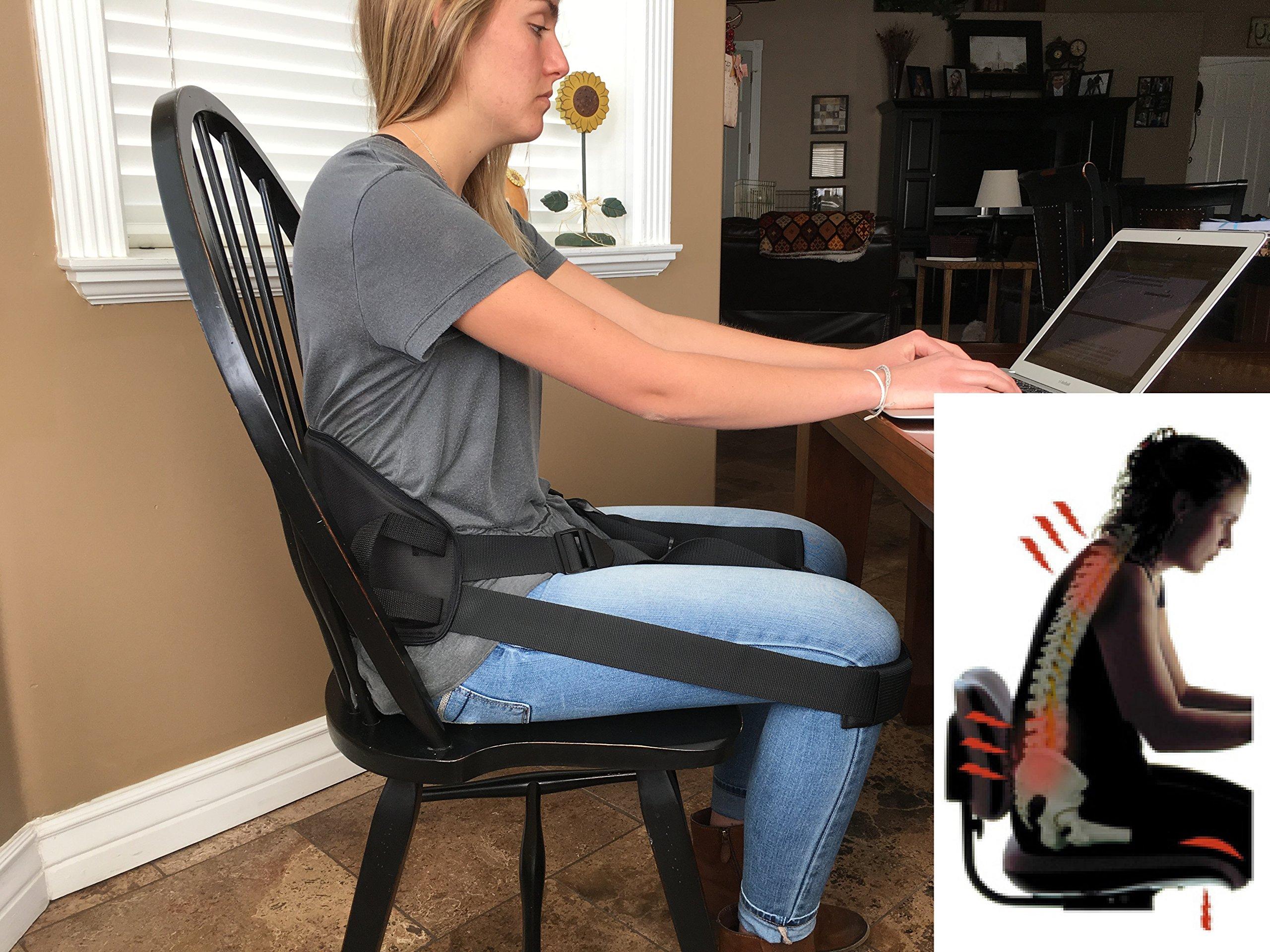 Got'urBack (Medium) Universal Back Support, Posture Correction Strap for a Better Back by Got'urBack (Image #1)