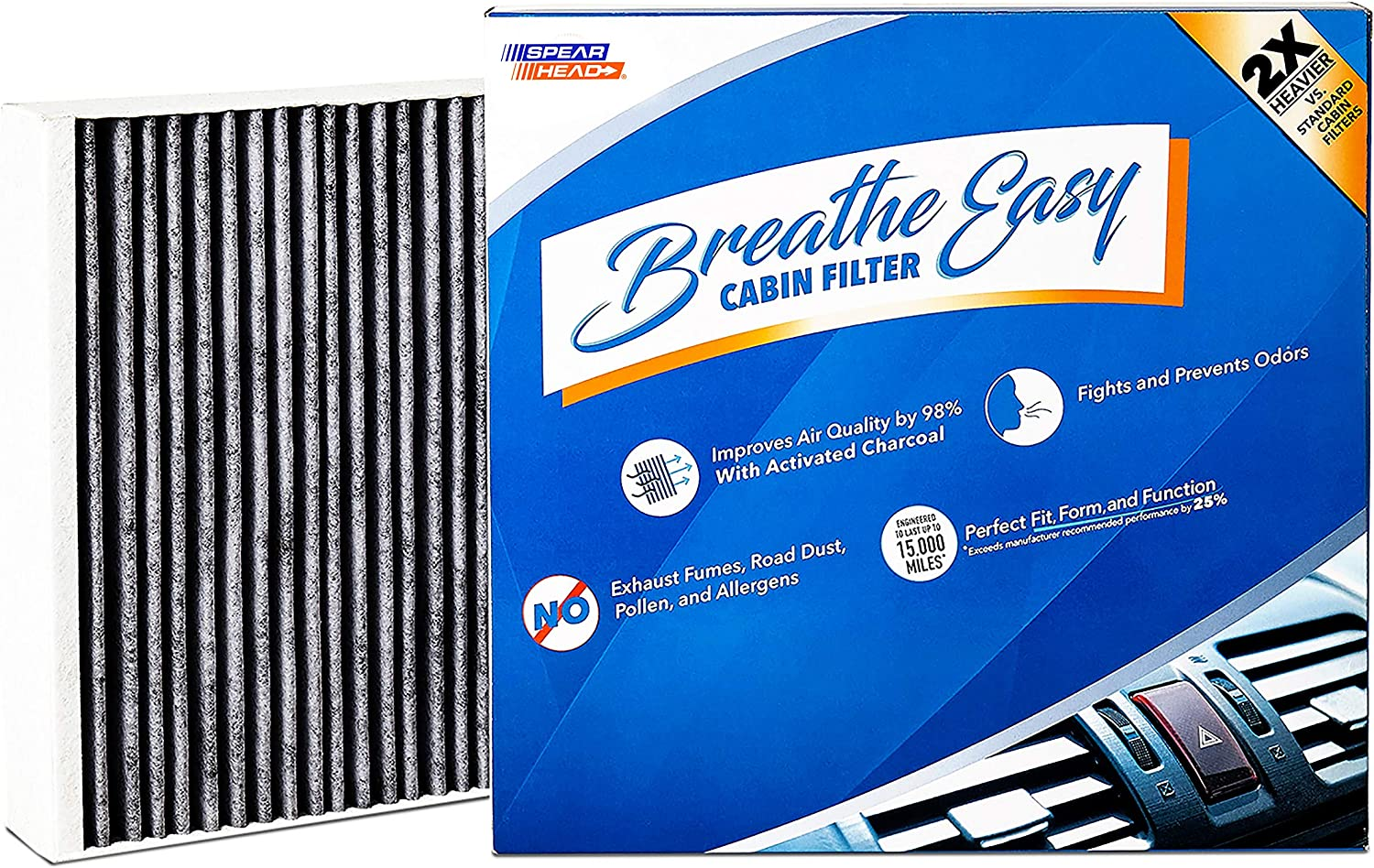 C36154 Carbon Cabin Air Filter For CHEVROLET MALIBU 13-15 MALIBU LIMITED 2016