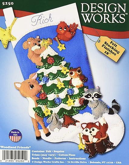 Design Works Crafts Inc Various Felt Craft Kit