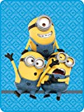 Universal A3109C Minions Pyramid Microraschel Throw, 46 by 60-Inch