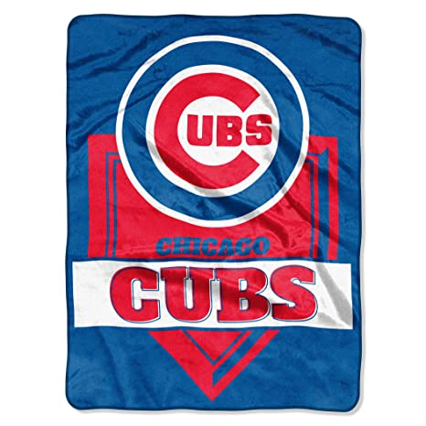 MLB Chicago Cubs Super Plush Throw Blanket Camping & Outdoor D132