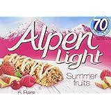 Alpen Light Summer Fruits 5 Cereal Bars (Pack of 10, total of 50 bars)