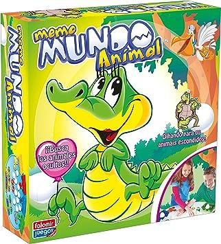 Falomir - Memo Mundo Animal, Juego de Mesa (25005): Amazon.es: Juguetes y juegos